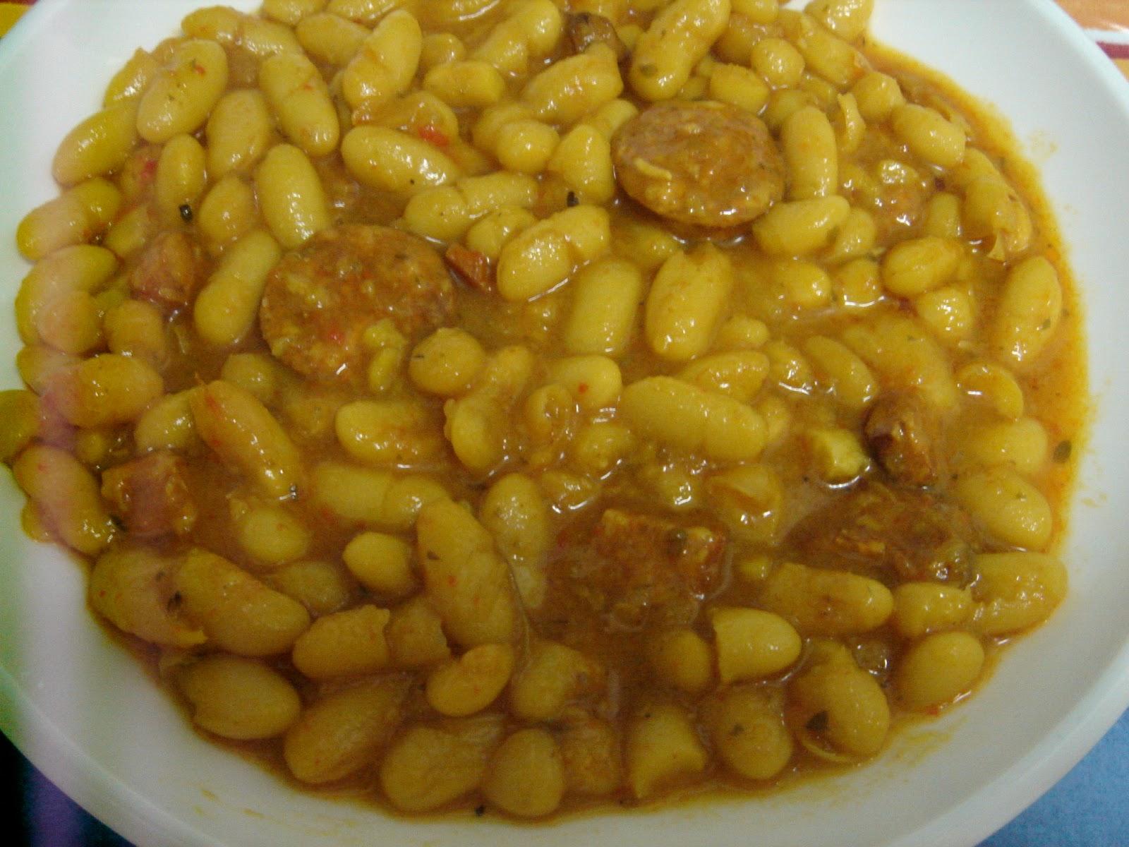 Trasteando en mi cocina jud as con chorizo - Judias con chorizo y patatas ...
