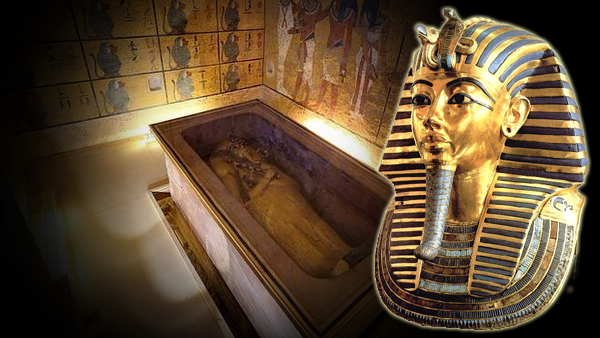 Descubren compartimentos ocultos en la tumba de Tutankamón