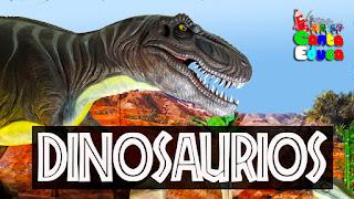 cosas de dinosaurios para niños