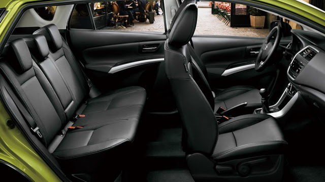 Interior Suzuki S-Cross