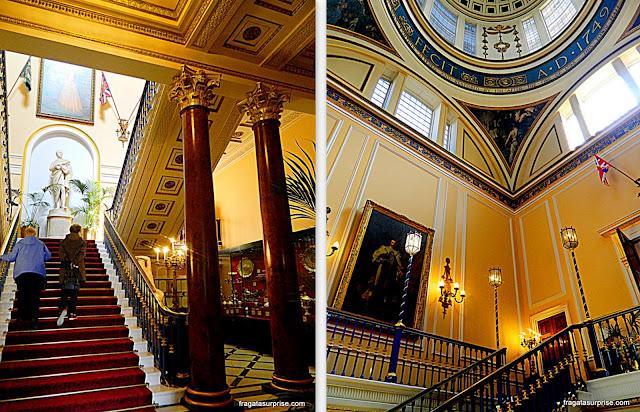 Interior do Town Hall de Liverpool