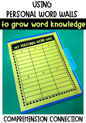 Vocabulary instruction will never get stale or boring if you have a variety of activities to choose from. This blog post includes 20+ ideas for teaching and practicing vocabulary. A strong vocabulary leads to improved comprehension. Personal word walls and classroom word walls are *still* a great teaching tool. Visit this post to learn more.