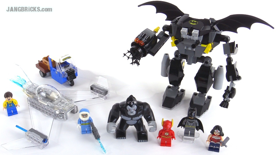 LEGO Super Heroes Gorilla Grodd goes Bananas reviewed! 76026
