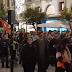 Jóvenes en Sevilla gritan:¡Andalucía no es lugar para el fascismo!