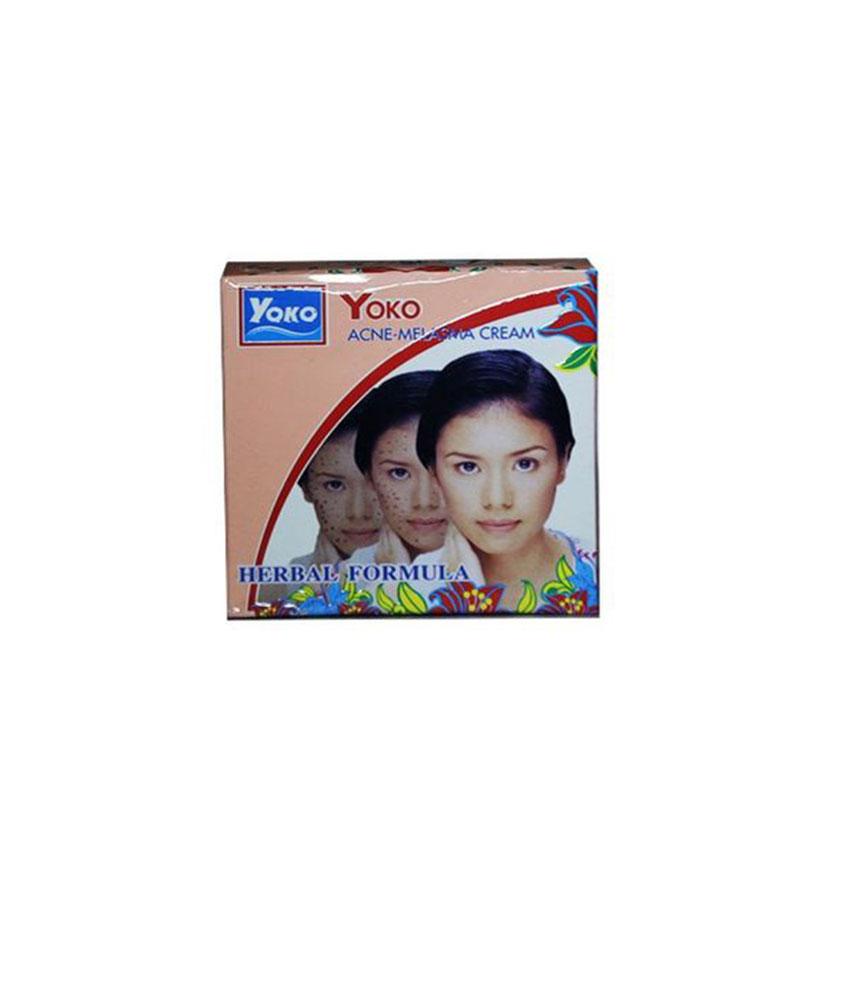 Yoko Acne Melasma Whitening Cream 4 G