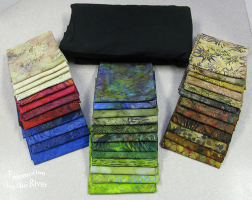 Batiks from Quilt in a Day