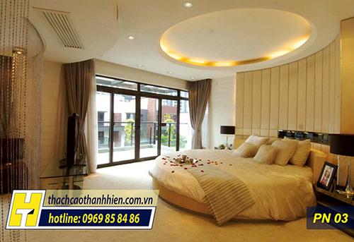 Thủ thuật trong thiết kế trần thạch cao phòng ngủ-1
