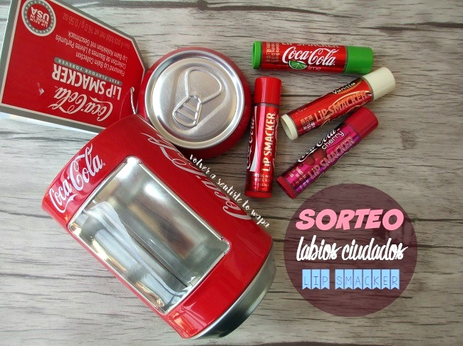 Lip Smacker edición Coca-Cola