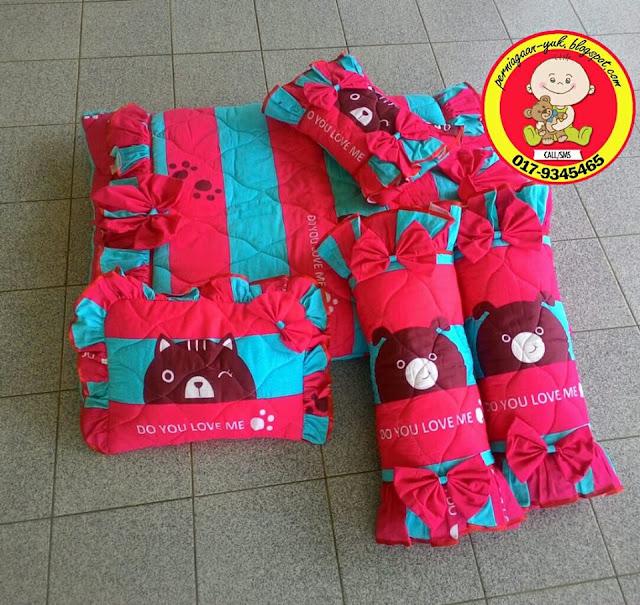 Promosi Set Tilam Baby(design pinky bear),barang baby