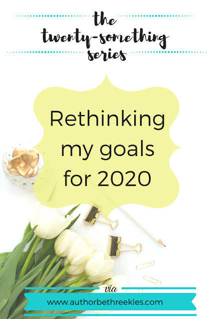 With everything going on, I've had to rethink a lot of my goals for 2020, and set a few new ones. In this post, I reflect on the feeling of giving up and staying motivated.