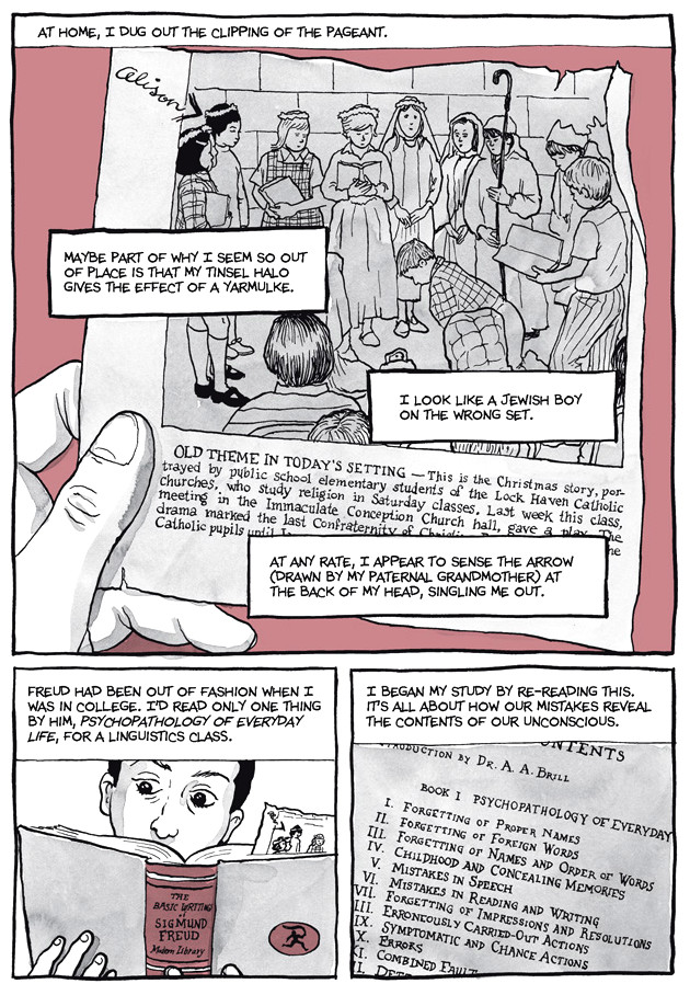 Page 8, Chapter 2: Transitional Objects from Alison Bechdel's graphic novel Are You My Mother