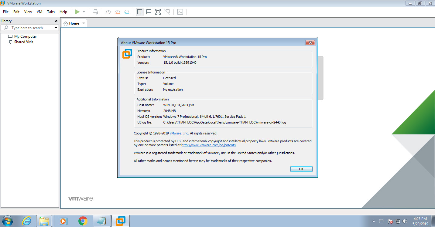 VMware Workstation Pro 15 1 0 full [update 5/20/2019] | BEST