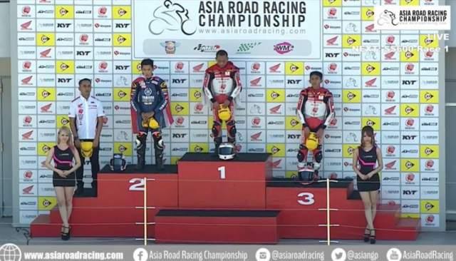 Podium AP250 ARRC Race 1 Suzuka Jepang 2018