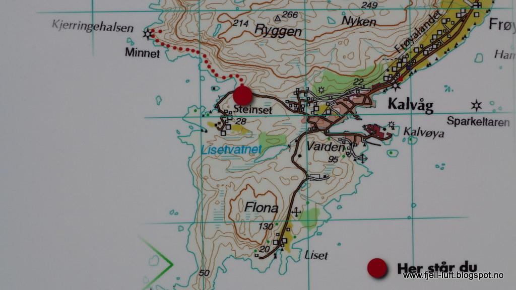 kalvåg kart Liv Janne sin tur  og fjellblogg: Ytre Bremanger (2  kalvåg kart