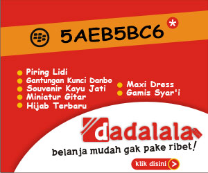 Iklan Dadalala : Kiddle.ID