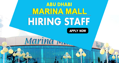 Marina Mall Jobs In Dubai Abu Dhabi