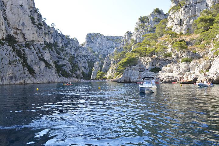 Calanques sud de la France à Marseille