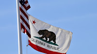 California state flag (Photo Credit: Commons) Click to Enlarge.