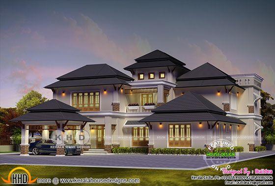 Elegant modern villa 3521 sq-ft