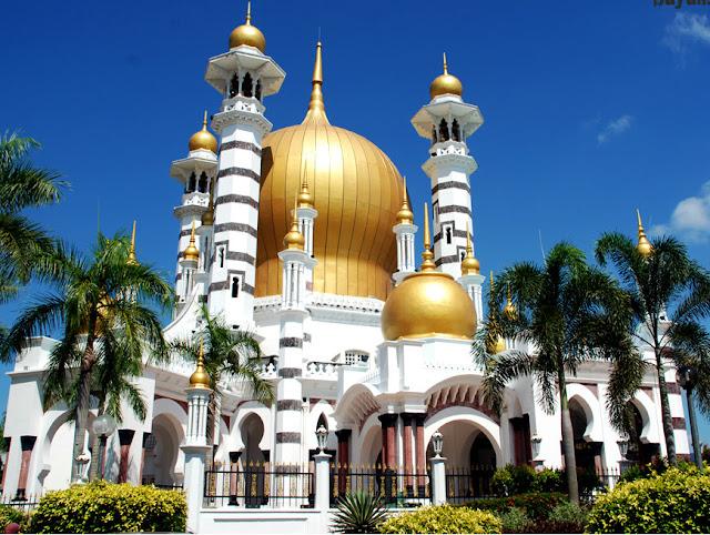 Kumbang Jingga Masjidmasjid tercantik di malaysia