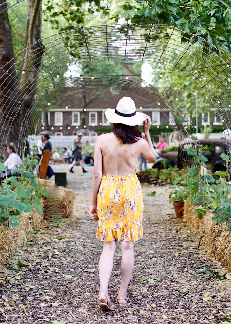 SUMMER POP UP IN LONDON, BEAUTIFUL ALLOTMENT