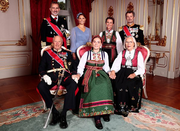 Crown Princess Mette-Marit, Crown Princess Mary, Prince Christian, Crown Princess Victoria, Princess Märtha Louise, Princess Astrid