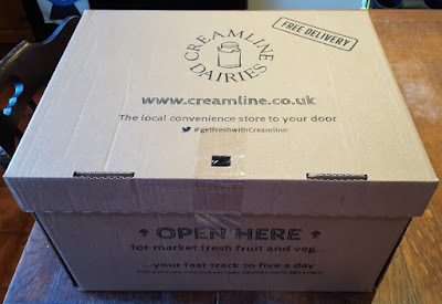 Creamline Fresh Fruit And Veg Box Delivery Review (NorthWest UK).