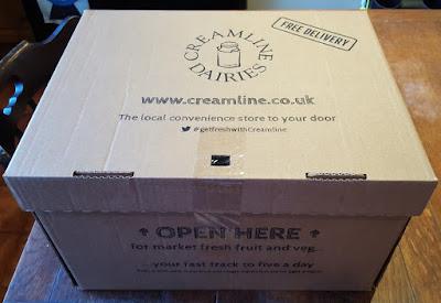 Creamline Fresh Fruit And Veg Box Delivery Review (NorthWest UK).
