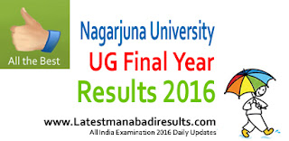 NU Degree Results 2016 Today,Manabadi Degree 3rd Year Results 2016, ANU UG Degree Final Year Results 2016