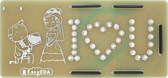 RPiBlog: Design a romantic PCB using a free PCB design tool - EasyEDA
