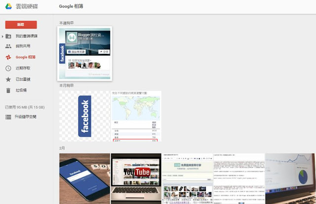 blogger-upload-photo-in-google-drive-PICASA 關閉之後, Blogger 要如何管理圖片?