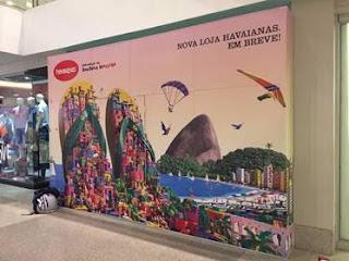 Shopping Bay Market inaugura unidade da Havaianas