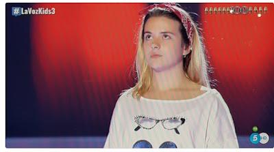 Beatriz: Chandelier |  Audiciones a ciegas La Voz Kids