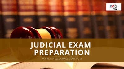 Judicial Exam Preparation - Pahuja Law Academy