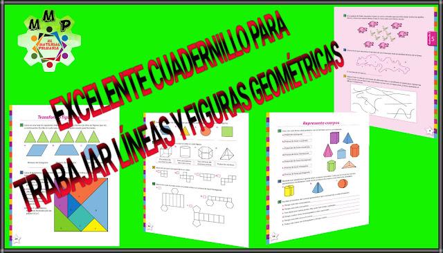 CUADERNILLO DE LÍNEAS Y FIGURAS GEOMÉTRICAS