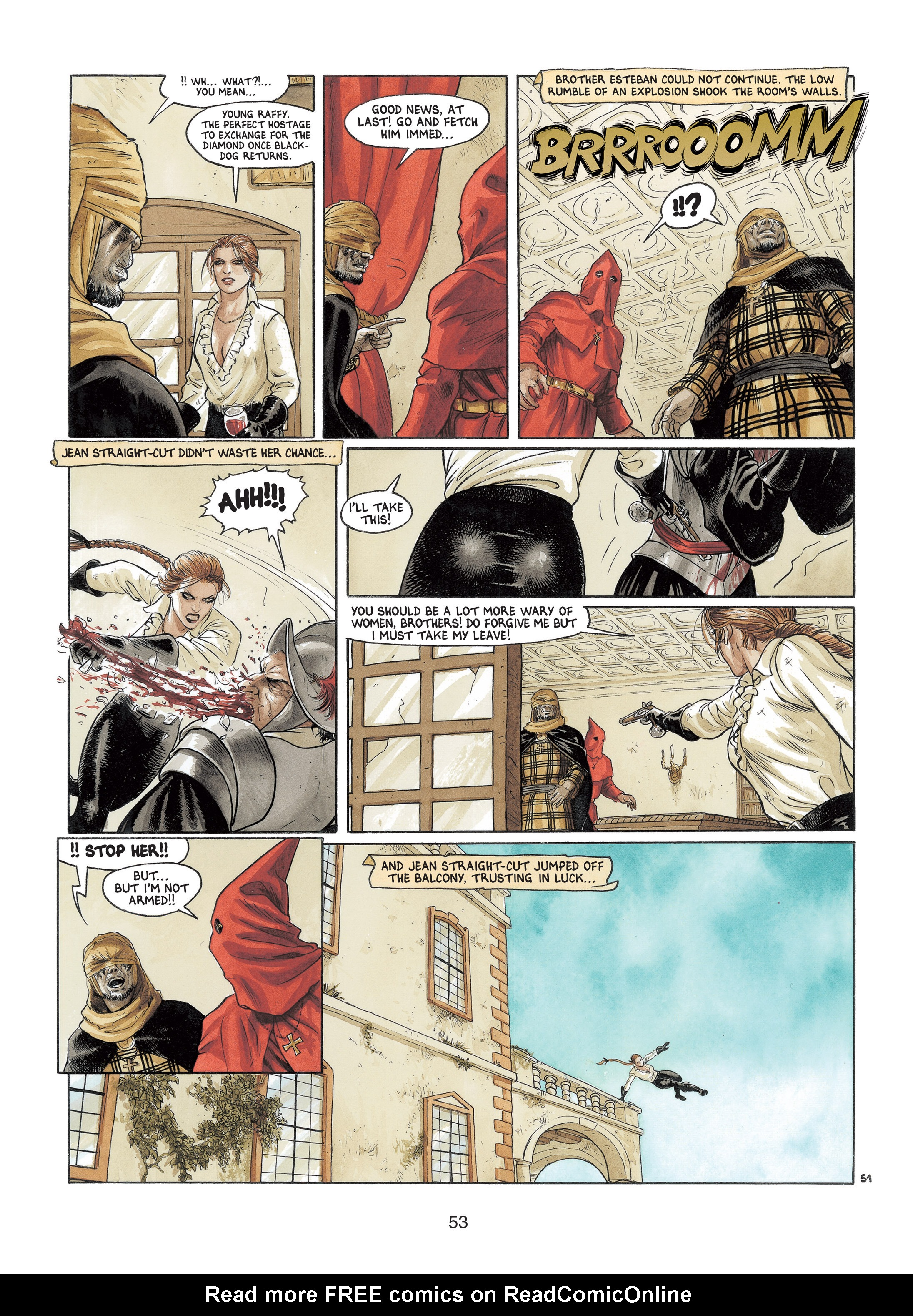 Read online Barracuda comic -  Issue #4 - 54