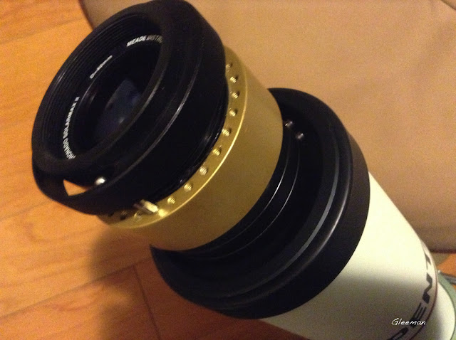 Pentax 75SDHF + SolarMax II 40 H-alpha filter