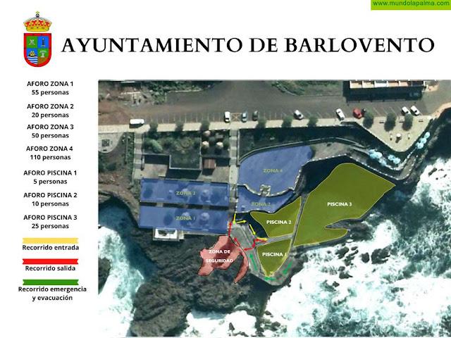 Barlovento reabre las piscinas de la Fajana el 15 de junio