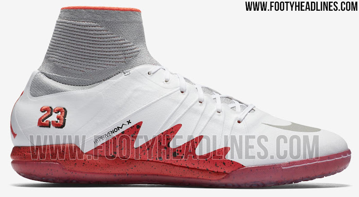 best service 913dc 435b1 White / Crimson Nike HypervenomX Proximo Neymar x Jordan ...