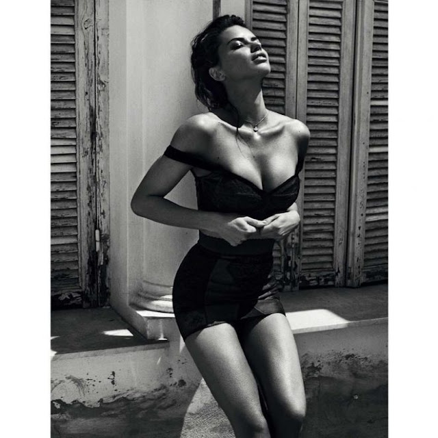 Adriana Lima – Harper's Bazaar Spain