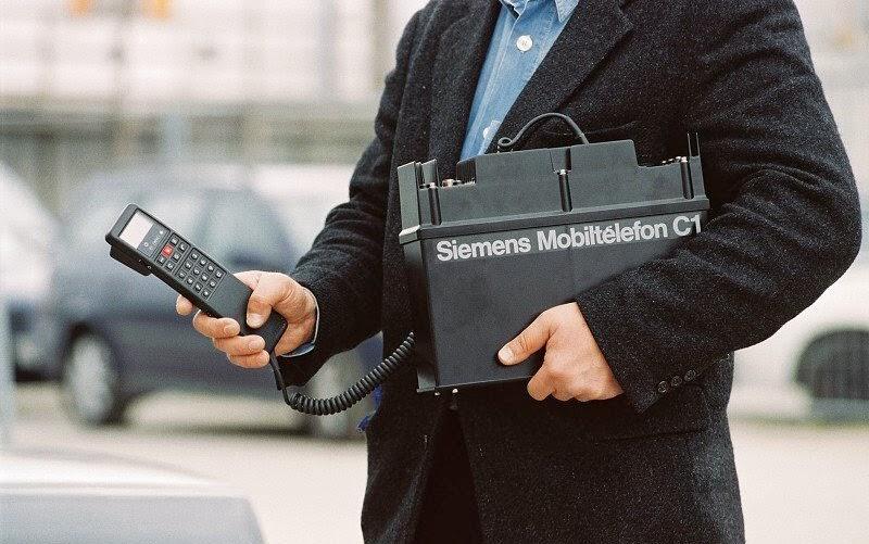 Primer Teléfono móvil Siemens