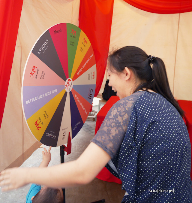 CNY Lucky spin booth