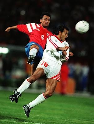 Paraguay y Chile en Copa América 1993, 18 de junio