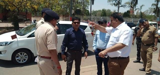 पुलिस हिरासत से फरार हुआ आरोपी घर जा पहुंचा, फिर गिरफ्तार | GWALIOR NEWS