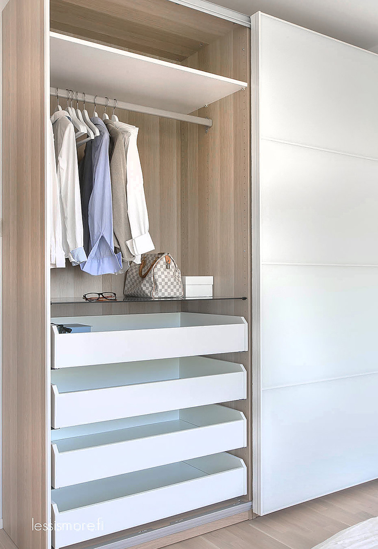 the paper mulberry wardrobe closet one