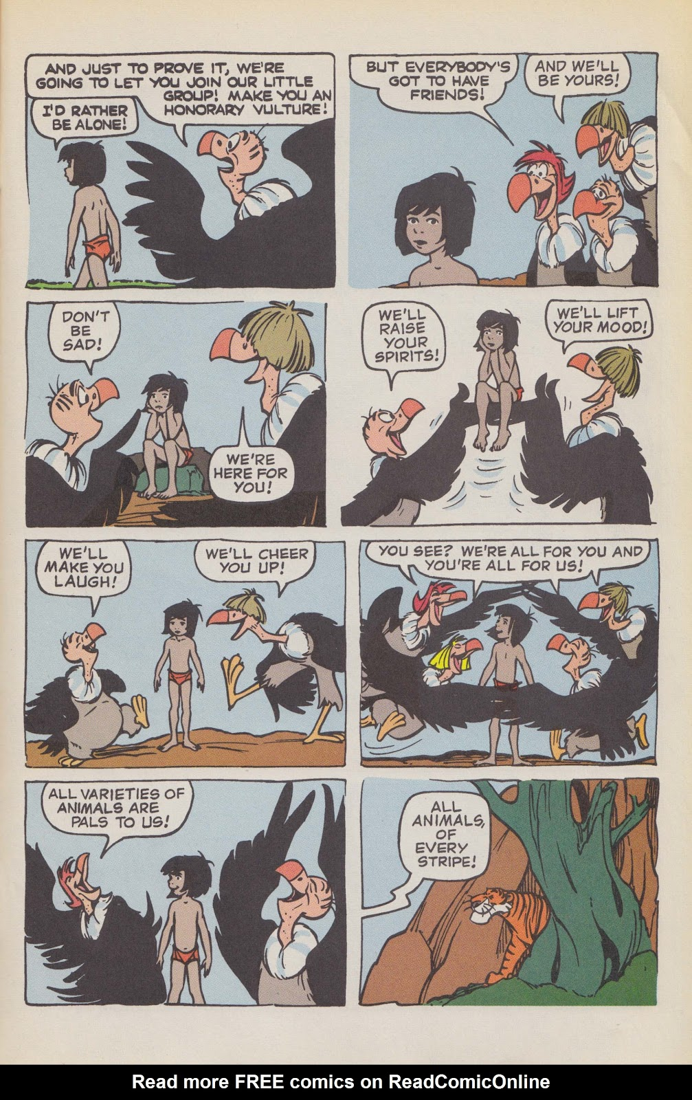 Read online The Jungle Book comic -  Issue # Full - 51