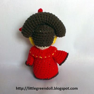 Star Wars Queen Amidala amigurumi