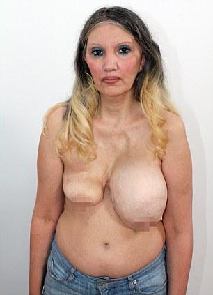 Woman vibrator stock photo