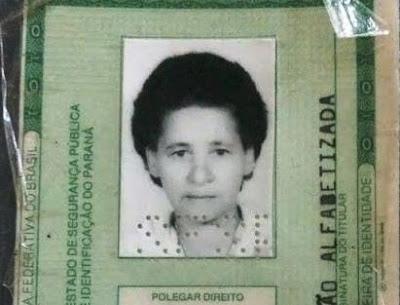 Nota de falecimento em Borrazópolis-Faleceu a dona Terezinha Januário