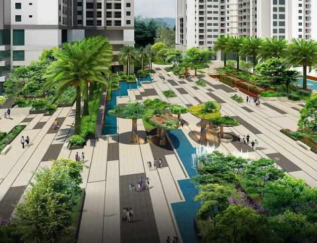 Quảng trường Ruby dự án Goldmark City